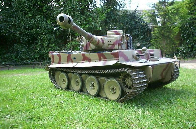 Radio Controlled Tank Tiger 1/6 scale