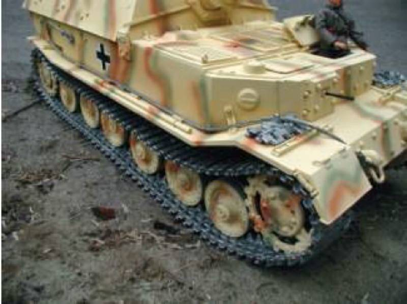 Radio Controlled Tank Elefant 1/6 scale